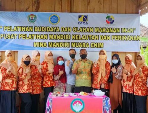 LPB Pama Kite Gale Bersama P2MKP Mina Mandiri Gelar Pelatihan Olahan Ikan